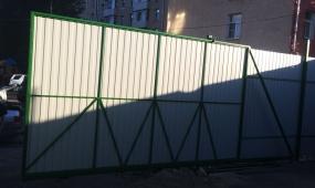Винтовые сваи под откатные ворота