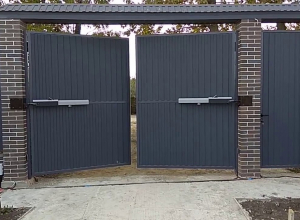 Электрические распашные ворота
