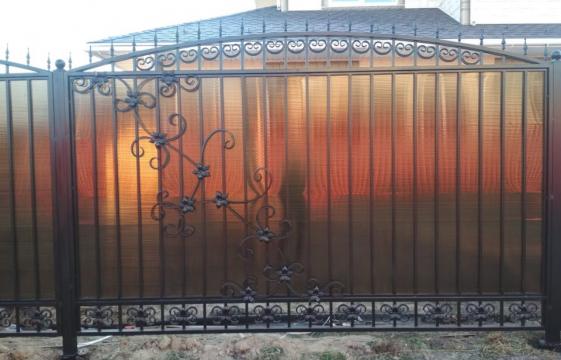 Комбинированные автоматические ворота