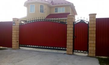 Автоматические откатные ворота